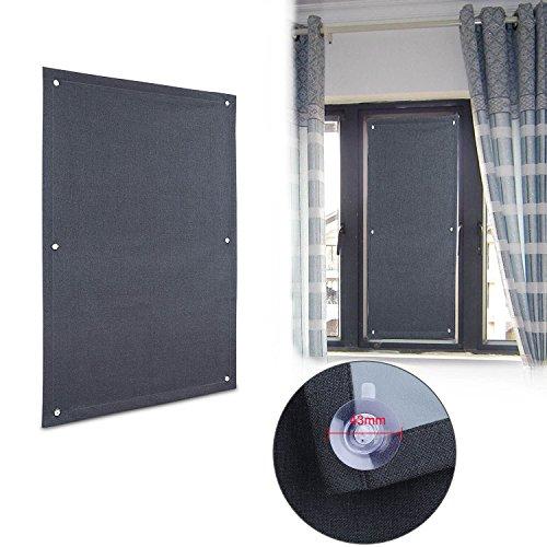 Wohl h 60* 93cm tetto finestra tenda a rullo termica protezione solare in beige per velux finestre da tetto ggl c04ecc, grigio scuro, 60 * 93 cm