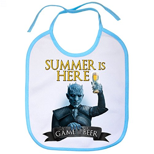 Babero Juego de Tronos Game Of Beer Summer Is Here - Celeste