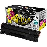 Yellow Yeti CB436A 36A (2000 páginas) Tóner compatible para HP LaserJet P1505 P1505n P1506 M1120 MFP M1120n MFP M1522n MFP M1522nf MFP Canon i-SENSYS LBP-3250 [3 años de garantía]