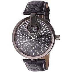 High Quality BLING MASTER Watch - ESSENCE black hematite