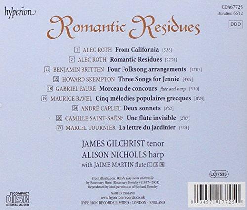 Romantic Residues : Mélodies pour Ténor et Harpe