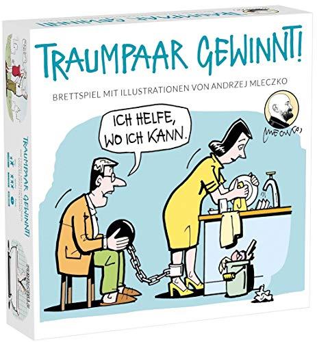 Traumpaar Gewinnt Brettspiel für Erwachsene als Lustiges Geschenk für Männer und Frauen Paare Partyspiel - Sex Brettspiel