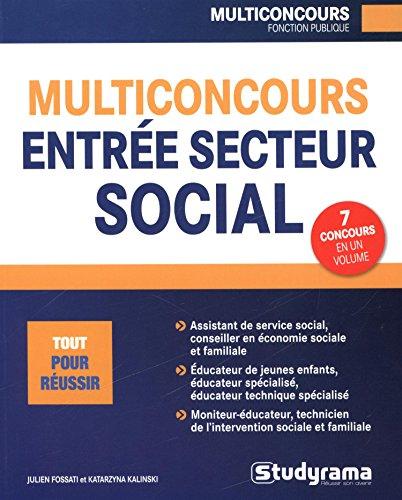 Multiconcours entre secteur social