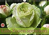 Lass Rosen sprechen (Wandkalender 2019 DIN A4 quer): 12 bezaubernde Rosenportraits begleiten Sie durch das ganze Jahr (Geburtstagskalender, 14 Seiten ) (CALVENDO Natur)