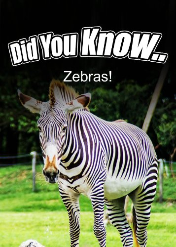 Zebras (Did You Know) (English Edition)