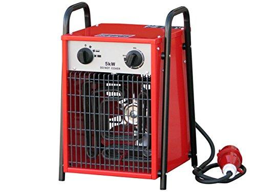 Rotek Elektrischer Heizlüfter mit 5 kW Heizleistung (400V), HF-05-400 thumbnail