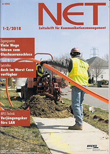 Net 1-2 2018 MPLC Technik Leitstellen Zugangsnetze Zeitschrift Magazin Einzelheft Heft Kommunikationsmanagement