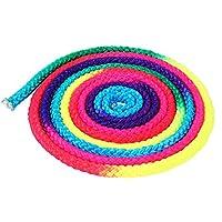 Borlai Cuerda de Gimnasia Rítmica Cuerda Colorida de Entrenamiento Deportivo Cuerda de Gimnasia Artística