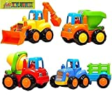 #10: TOY-STATION Unbreakable Engineering car toy set