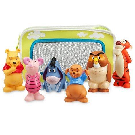 Disney Badespielzeug - Winnie Pooh , ferkel, I-Aah, Ruh, Eule, Tigger (Mickey Badespielzeug)