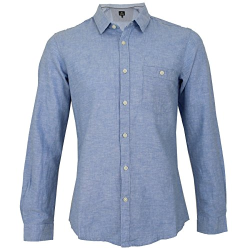 Threadbare -  Camicia Casual  - Uomo Blue