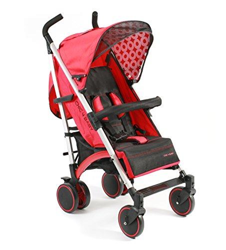 CHIC Luca 2015 - Carrito de bebé rojo