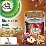 Air Wick Duft-Stimmungskerze Winterlicher Zimttraum, Duftkerze