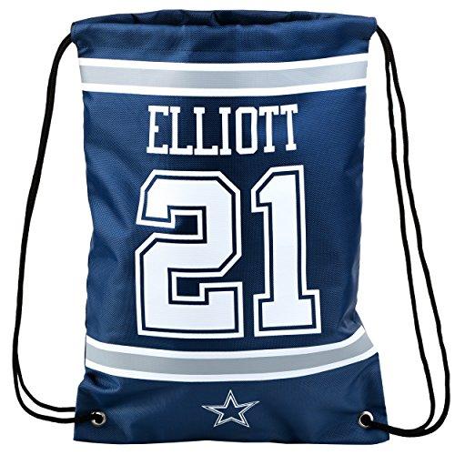 FOCO NFL Dallas Cowboys Unisex-Spieler-Rucksack mit Kordelzug, Team-Farbe, OS