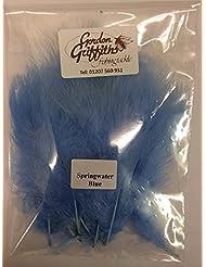 Gordon Griffiths Marabou para moscas–50de Nicole Tamarin–más de 30colores, Springwater Blue