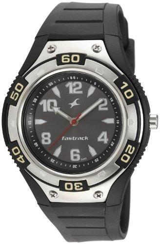 Fastrack NE9333PP02J Black Dial Men's Analog Watch image
