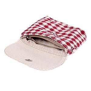 Damara Womens Yarn Knitted Sanitary Napkins Bag