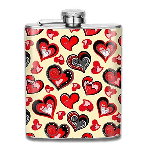 Borraccia 7oz san valentino groomsman in acciaio inossidabile, pallone da damigella d'onore
