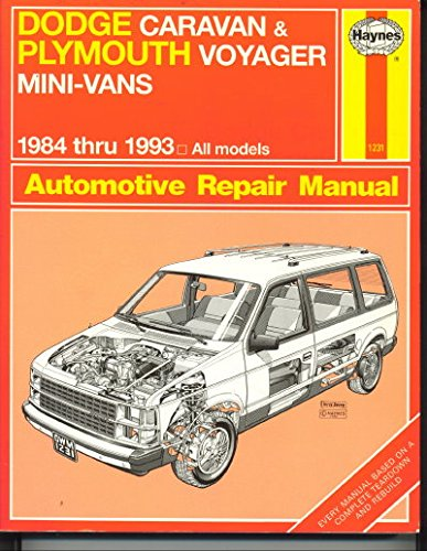 dodge-caravan-and-plymouth-voyager-mini-vans-1984-thru-1993-automotive-repair-manual