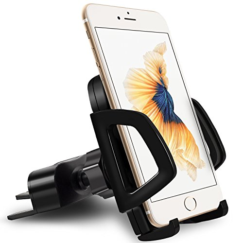 Auto-vent-mount-cd (Vena Handyhalter KFZ Halterung CD Schiltz [DISC57] Universal Auto Handyhalterung Car Mount Holder für iPhone X/8/8 Plus/7/7 Plus, Galaxy S9 / S9 Plus / Note 8 / S8/S8 Plus, Moto G5/G5 Plus, LG G6, Google Pixel/Pixel XL)