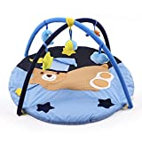 JYSPORT Baby Spieldecke Spielbögen Activity Gym Krabbeldecke Plush Spielzeuge Matte (Hold the bear)