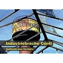 Industriebrache Conti - Ästhetik des Verfalls (Posterbuch DIN A2 quer): Ein aufgelassenes Industrieareal nach jahrelangem Dornröschenschlaf - ... (Posterbuch, 14 Seiten) (CALVENDO Orte)