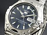 Seiko Silver Stainless-Steel Automatic Men's Watch - SNZ447K