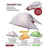 NatureHike Im Freien Wasserdichte Zelt Doppelschicht Zelt Ultraleicht Camping Zelt fur 1 Personen - 2