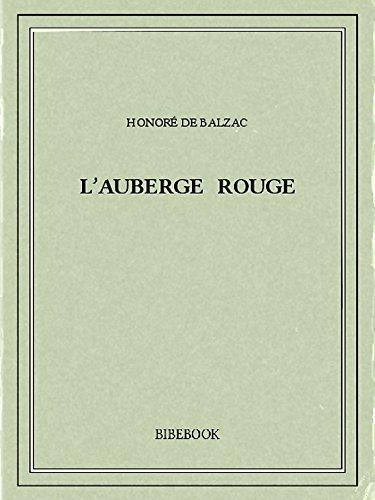 Couverture du livre L'auberge rouge