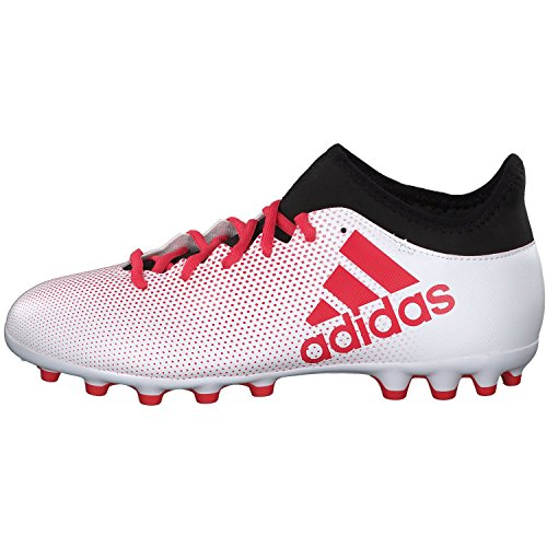 adidas X 17.3 AG, Chaussures de Football Homme Multicolore (Ftwwhtreacorcblack)