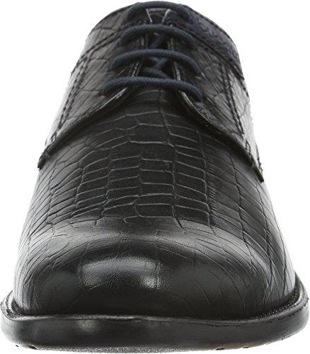 Bugatti 312163011100, Scarpe Stringate Uomo Nero (Schwarz (schwarz 1000))
