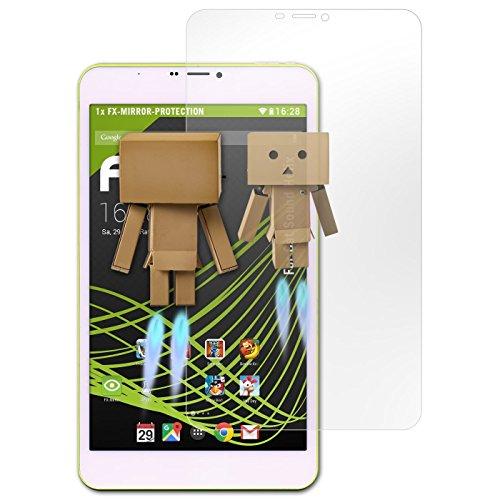 atFolix Bildschirmfolie kompatibel mit Cat So& Helix Spiegelfolie, Spiegeleffekt FX Schutzfolie