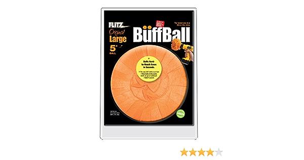 Flitz Buff Ball Large Orange 5 Diameter Elektronik