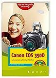 Canon EOS 350D. Handlicher Wegweiser und Bedienungsanleitung mit praktischem Schutzumschlag für die Kameratasche. Digitale Fotografie unterwegs