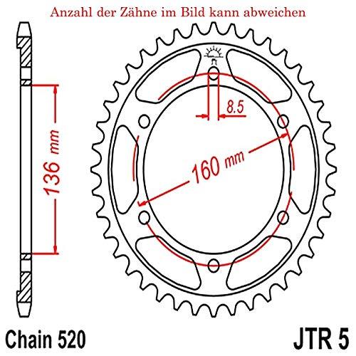 Preisvergleich Produktbild jtSprockets Kettenrad Tuareg 600 Wind 1988-1991 46 Zähne JTR5-46