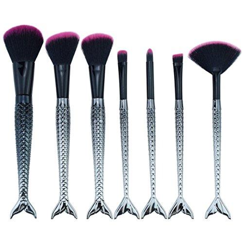 Make-up Pinsel Cyond Neue Ankunft 7 STÜCKE Meerjungfrau Make-Up Pinsel Set Foundation Blush...