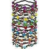 Specifiche del prodotto:  Materiale: carta, panno e elastico  Colore: come mostrato nell'immagine Pacchetto che comprende: 14 x Multicolore Ghirlande