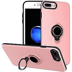 Coque Batterie iPhone 6 Plus/6S Plus - Veepax 3700mAh Chargeur Portable Batterie Externe Rechargeable Puissante Power Bank Coque de Protection pour Apple iPhone 6 Plus/6S Plus [5,5 Pouces] - Rose