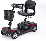 CHAIR Wheelchair, Medical Rehab Chair for Seniors,Old People,Scout 12 Amp Scooter Compact Transportable Power Scooter Motorized Mobility Scooter for Adults (Red)