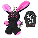 Poizen Industries Baby Minxy Keyrings Unisex Black Pink Red White Soft Toys