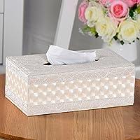 clg-fly Pelle Fazzoletti Stampa Zebra tovaglioli tovaglioli di carta Box europea creative casa moderna Spelling set shell pattern