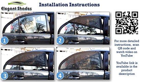 Buy Elegant Shades By Virgin Ideas - Car Window Sun Shade For - Hyundai  Grand i10   Era   Magna   Sportz   Asta on Amazon  9ca95ec8bdd