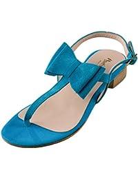 Termoda Due Damen Sandalen Catania (45, Blau)