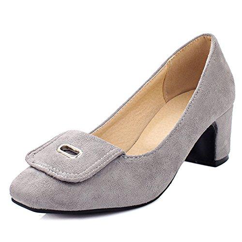 Fashion Heel - Scarpe con Tacco donna Light Gray
