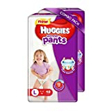 #4: Huggies Wonder Pants Large Size Diapers (48 Counts, Pack of 2)