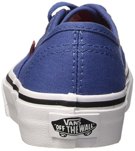 Vans Authentic Scarpe da Ginnastica Basse, Unisex Bambini Blu (sport Pop/bijou Blue/racing Red)