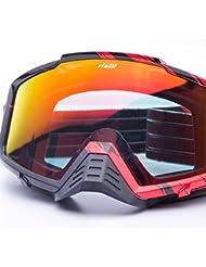 Rialli Motorrad-Schutzbrillen Off-Road-Schutzbrillen Motocross Dirt Bike Wind Staubschutz Schutzbrillen Snow Goggles Winter Sport Brillen