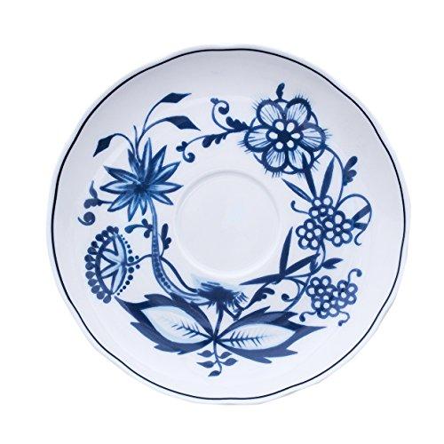 Eschenbach Porcelaine Group Romantika Soucoupe 13 cm Porcelaine, Motif Oignon, 1 x 1 x 1 cm