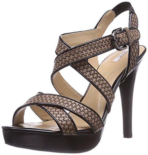 D DOVE Sneakers Geox Beige GREY IVANA High Heels Damen BLACKC1381 C SAND 7OdqUwg