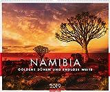 Namibia - Kalender 2019: Goldene Dünen und endlose Weite